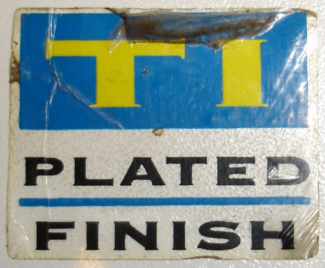 parkpre ti plated decal